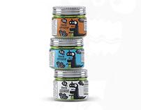 Packaging and Brand Design for Black Dinosaur