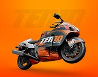 Ten10 Racing Branding