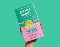 Family Foods Brand Identity & Packaging
