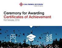 Awarding Ceremony E-mail Invitation