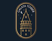Galata Tower Badge