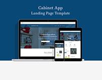 Cabinet App Landing Page