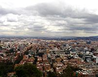 Mirador La Candelaria en Bogotá, Colombia