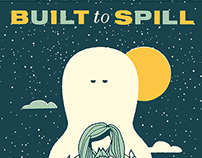Built to Spill - Gig poster
