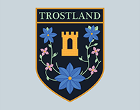 Trostland Badge