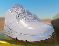 Air Max 90 Hight White/Gum