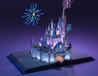 Magic Kingdom Castle (Renderman)