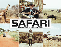Free Safari Mobile & Desktop Lightroom Preset