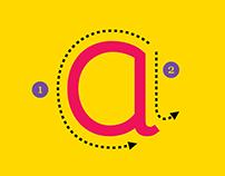 Gabriella — Tipografia