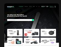 Amazon UI/UX and branding Re-design