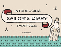 Sailor´s Diary - Hand Made Tattoo Style Typeface