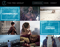 The Frei Group Website Redesign