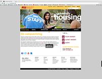 University Housing Website