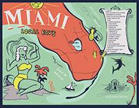27 Restaurant & Bar Miami Beach Placemats