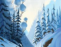 Snow photonstudy