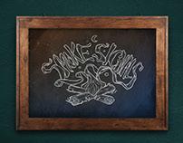 Smoke Signals Food Truck Branding // Logo