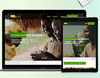 SATR website design