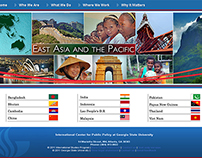 Designing ICePP: The Regional Landing Pages