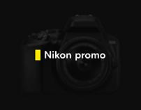 Nikon promopage