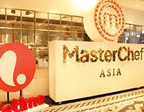 Master Chef Asia's Logo Timelapse