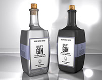 Label Design Vancouver / Shelby's Gin Label Design
