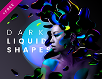 Dark liquid shapes