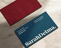 Sarah Delma - Visual Identity