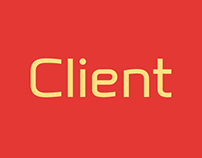 Client font family of 10 fonts.
