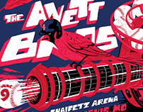 The Avett Brothers Poster - June 9, St Louis , MO