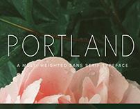 Portland | Sans Serif Font