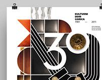 KULTURNI DOM GORICA — 30th anniversary