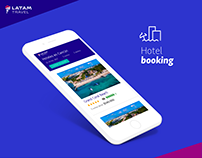 Hotel booking application for LATAM Airlines