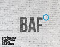 BAF İnşaat Logo ve Kurumsal Kimlik