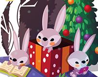 Mil y un Conejos - Navidad