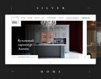 Сайт-каталог элитной мебели
