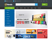 Tienda - Digital Products Store eCommerce Bootstrap 4 T