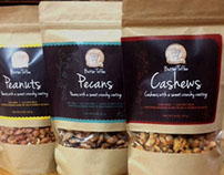 Gourmet Nuts: Packaging Design & Illustration