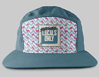 Locals Only - Five Panel Hats