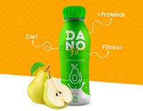 Danofit - Branding e embalagem/ packing