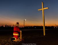 Santa and The Cross