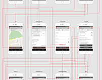 Happy Hotel Logo and App part 2(Wireframe and Proto)