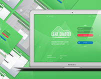 Lead Coaster Chrome Extension & Logo
