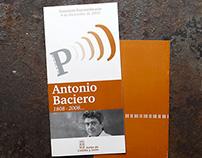 Folleto Concierto Antonio Baciero