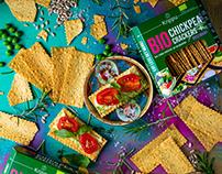 Krippu – chickpea crackers