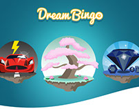 Dream Bingo Rooms Icon set