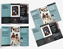 Marketing School Free Tri-fold Brochure