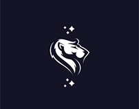Yeah, it's another lion logo mark. Concept.