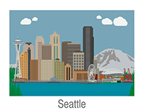 Seattle Illustration