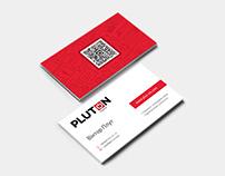 Pluton Digital business card