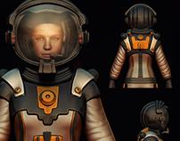 Astronaut. Sci-Fi